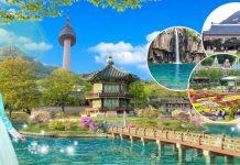 Khám phá vẻ đẹp Hàn Quốc mùa hè