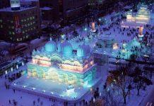 lễ hội ánh sáng Sapporo du lịch Nhật Bản